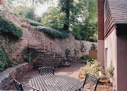 PATIOS: Secluded Garden Patio