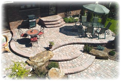 desgin your own patio | garden design for living