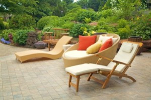 A lot of Out Door Garden furniture  