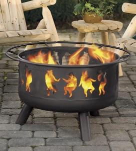 Inexpensive Fire Pit Area