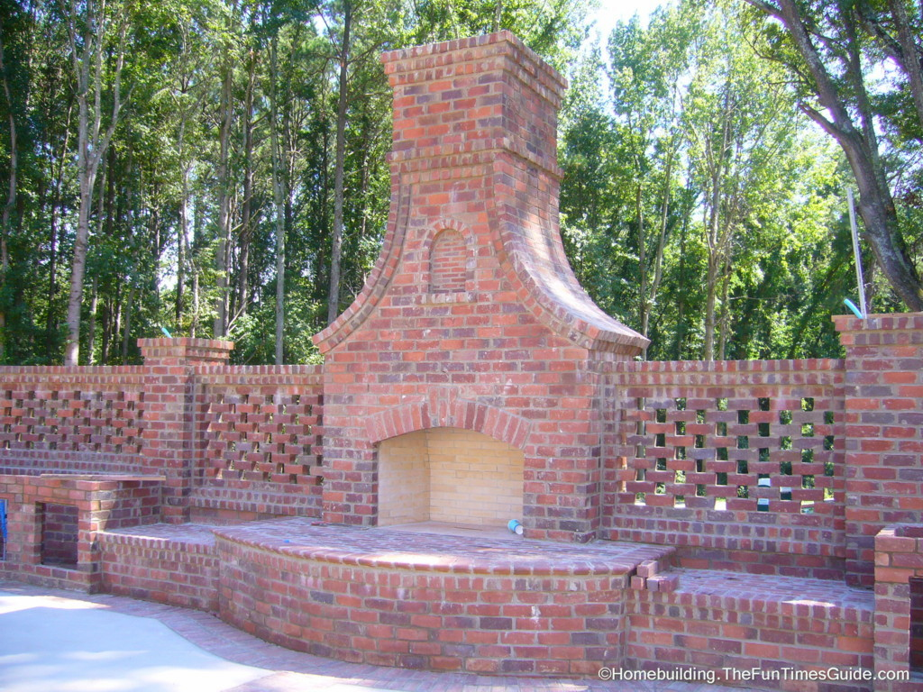 Pics Photos Build Brick Outdoor Fireplace Pictures