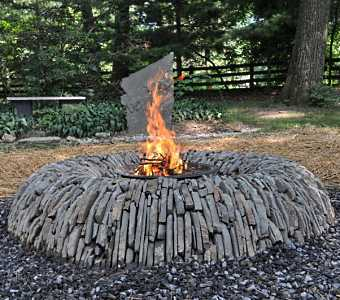 outdoor stone fire pit. FIRE PITS And OUTDOOR Outdoor Stone Fire Pit