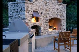 FIRE PITS and OUTDOOR FIREPLACES   Design guide for outdoor firplaces and firepits   Garden Design  . Large Outdoor Fireplace. Home Design Ideas