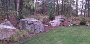 Natural mulch garden